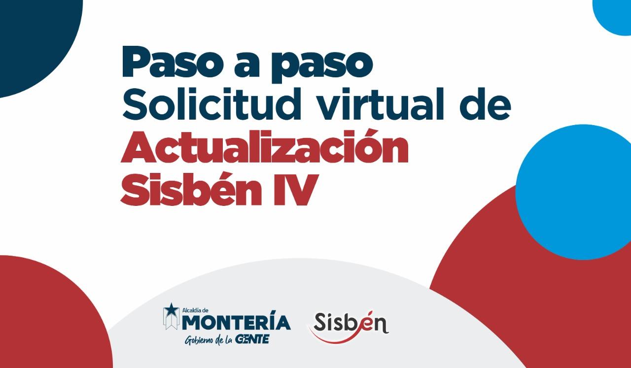 formulario de de solicitudes virtuales del Sisben IV