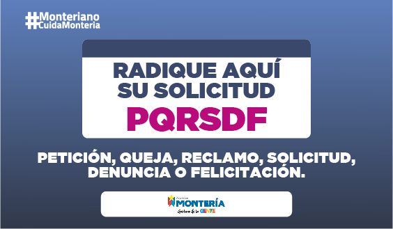 Radicación de PQRSDF