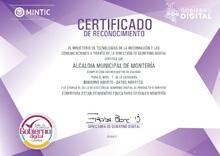 Certificado de Datos Abiertos