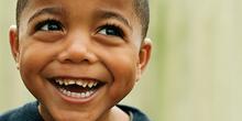 Niño feliz Macondo